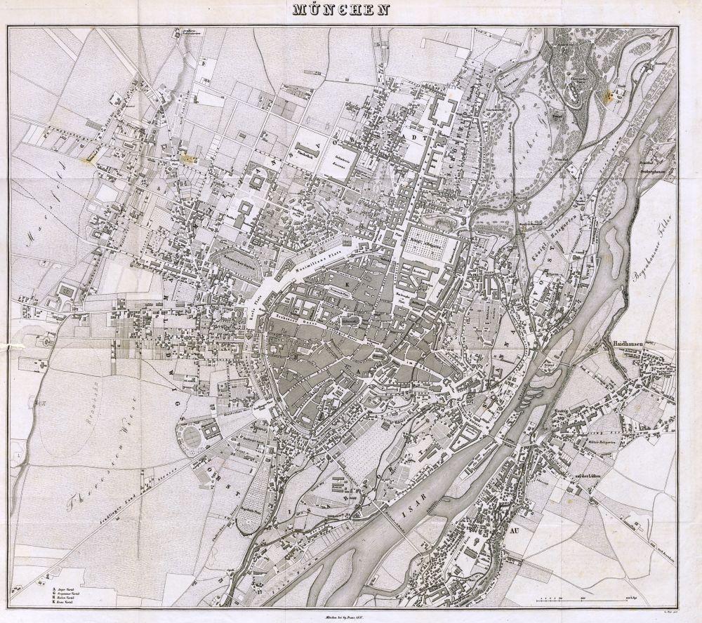 Straßen erzählen Geschichte: Stadterweiterungen in München im 19. Jahrhundert