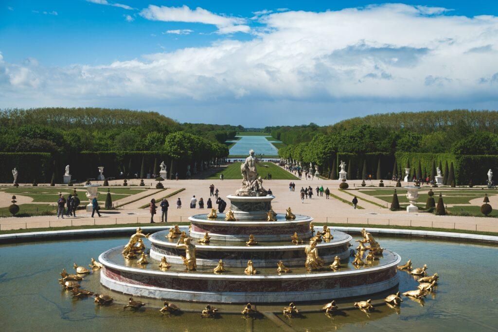 Gartenansicht von Versailles