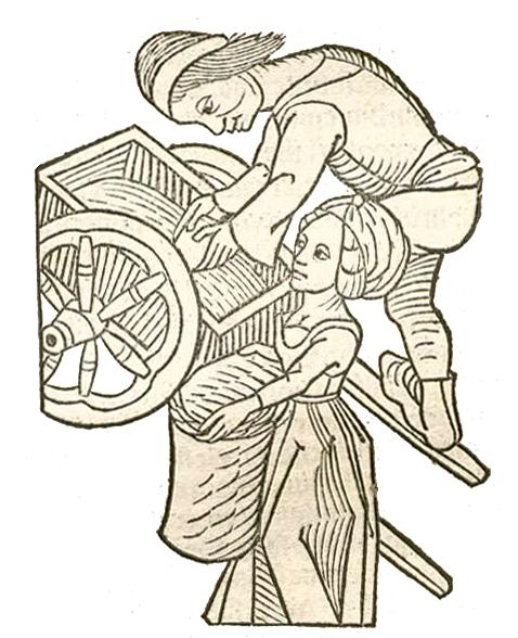 Salzhändler als Beispiel für Wirtschaft und Handel im Mittelalter